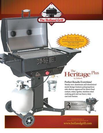 Brochure-Heritage Plus Spec Sheet (printer ... - The Holland Grill.