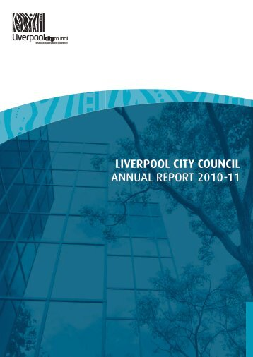 State of the Environment Report 2010/2011 - Liverpool City Council