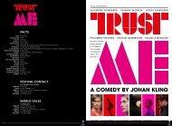 Trust Me Flyer - TrustNordisk