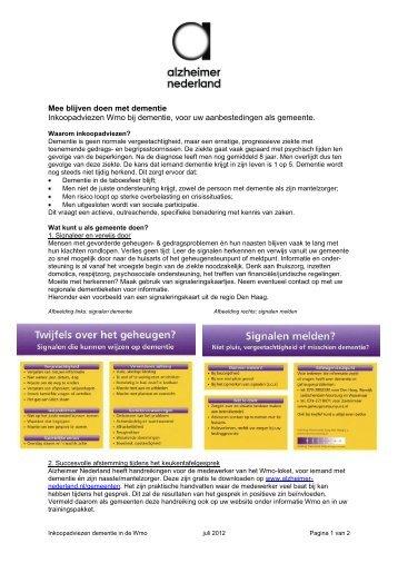 Download - Alzheimer Nederland