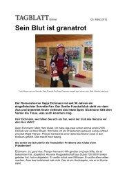 2012 - Sepp Eichmann: Sein Blut ist granatrot - Super Servette