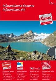 PDF Download Sommer Informationen Goms - Ernen