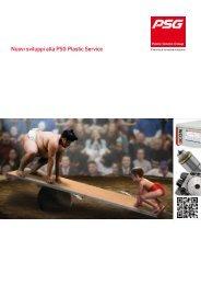 Nuovi sviluppi alla PSG Plastic Service - PSG Plastic Service GmbH