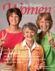 August/September 2009 - Coulee Region Women's Magazine
