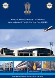Five Year Plan - Ministry of Civil Aviation