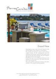 Grand View - Pierres Caraibes