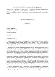 Martonyi János az EU–USA szabadkereskedelmi megállapodásról ...