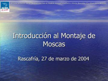 Introducción al Montaje de Moscas - Ríos con Vida