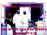 Webster-Gulf Nuclear: Where Stranded Waste Comes From