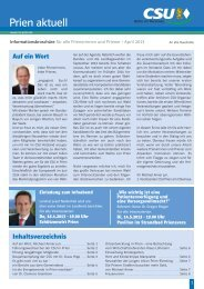 Prien aktuell April 2013 - CSU