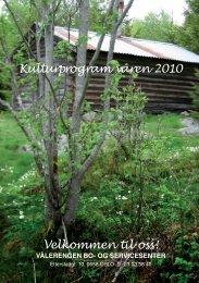 Kulturprogram våren 2010 Velkommen til oss! - Kirkens Bymisjon