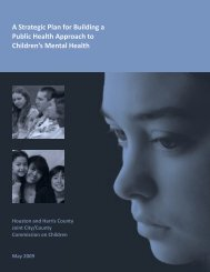 A Strategic Plan for Building a Public Health Approach to Children's ...