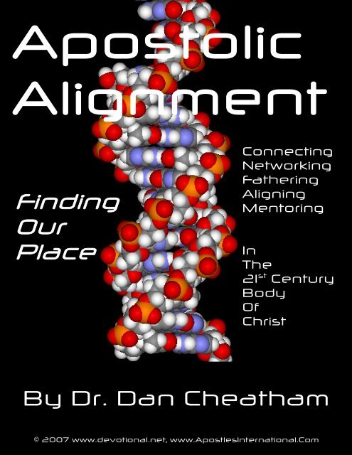 Apostolic Alignment - FaithSite com