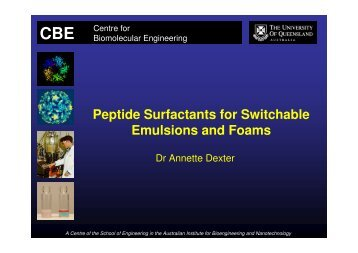 Peptide Surfactants for Switchable Emulsions and Foams
