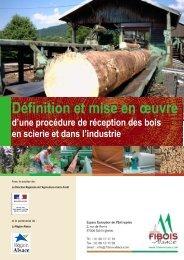 Définition et mise en oeuvre d'une procédure de ... - FIBOIS Alsace
