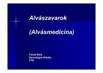 Inszomnia - PTE KK Neurológiai Klinika