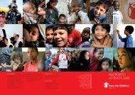 RAPPORTO ATTIVITÀ 2008 - Save the Children Italia Onlus
