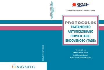protocolos tratamiento antimicrobiano domiciliario endovenoso (tade)