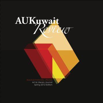 1 Art & Literary Journal Spring 2012 Edition American ... - AUK