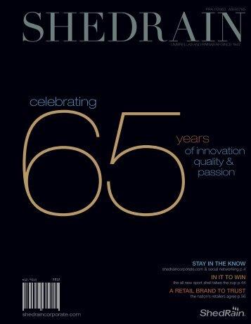 65years celebrating - ShedRain