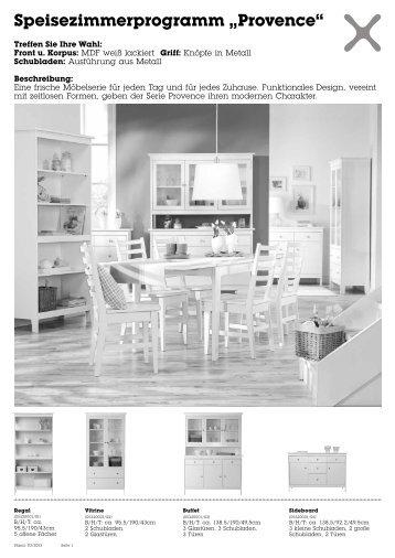 "Speisezimmerprogramm ""Provence"""