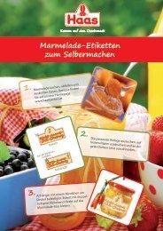 Anleitung Marmelade-Etiketten zum Selbermachen