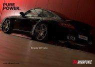 Porsche 997 Turbo - GP Products