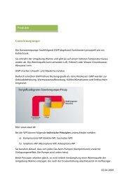 Das Prinzip der GWP - Erdgas Obersee AG