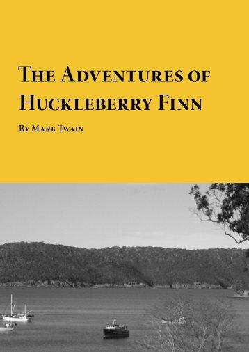 The Adventures of Huckleberry Finn - Planet eBook