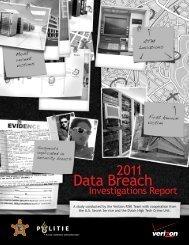 Data Breach - United States Secret Service