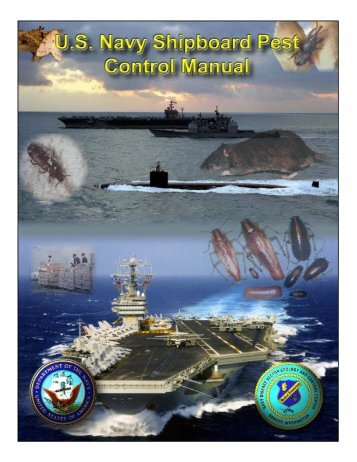 us navy shipboard pest control manual - Operational Medicine