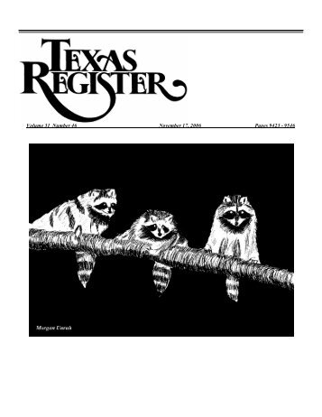 November 17, 2006 Issue - UNT Libraries Government Documents ...