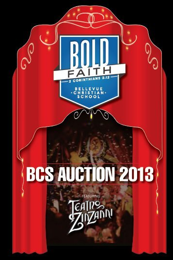 BCS AUCTION 2013 - Bellevue Christian School