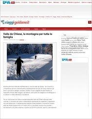 Viaggi.guidone.it - Valle del Chiese