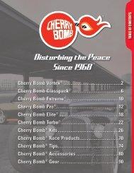 Cherry Bomb Performance Exhaust Catalog CBPEC12 - IMCO ...