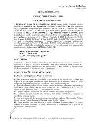 EDITAL DE LICITAÇÃO PREGÃO ELETRÔNICO Nº 11/2011 ...