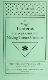Catalogue of magic lanterns, stereopticons, and ... - Yesterday Image
