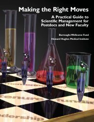Making the Right Moves: A Practical Guide to Scientific Management ...