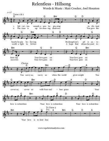 oceans hillsong sheet music - Solid.graphikworks.co