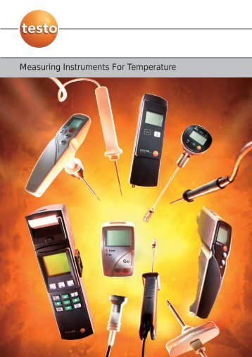 Measuring Instruments For Temperature