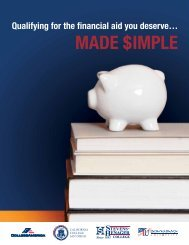 download our guide to financial aid
