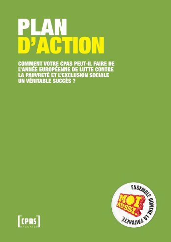 Le plan d'action des activités retenus