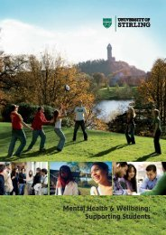 Pdf Version (1333Kb) - Quality Assurance - University of Stirling