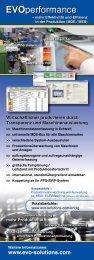 EVOperformance EVOperformance - EVO Informationssysteme GmbH