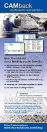 CAMback CAMback - EVO Informationssysteme GmbH