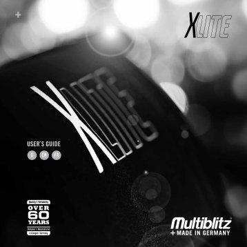 USER`S GUIDE - Multiblitz