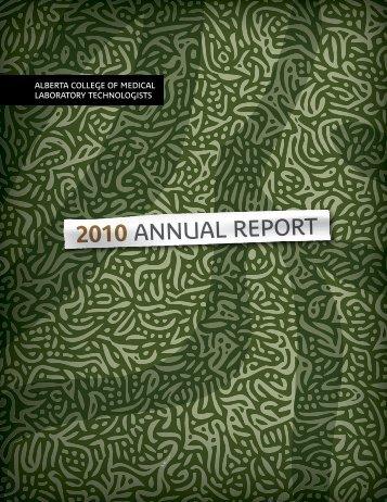 2010 ANNUAL REPORT - CMLTA