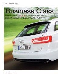 Eco fahren andere: Ein Audi A6 als Firmenwagen ist für viele ...