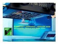 Propojování v elektronice – elektrické spoje - UMEL