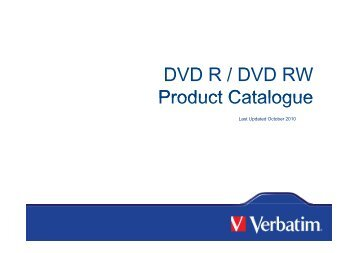 DVD R / DVD RW DVD R / DVD RW Product Catalogue ... - Icecat